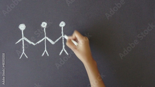 Stickpeople Illustration