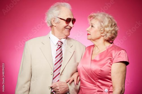 Senior affection