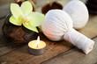 Massage , Kräuterstempel