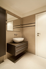 interior, modern small bathroom