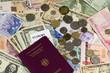 Reisepass und Wechselgeld
