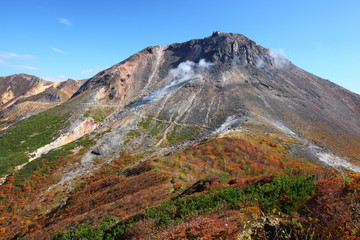 Mt. Nasudake in autumn, Tochigi, Japan