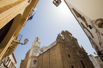St. Agata Cathedral in Gallipoli, Puglia, Southern Italy