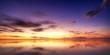 Crépuscule sur le lagon de La Réunion.