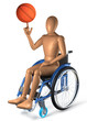 Sportrollstuhl Basketball