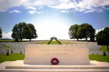 First World War Cemetery near Arras, Northern France