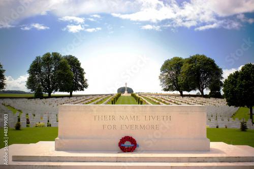 Papiers peints Cimetiere First World War Cemetery near Arras, Northern France