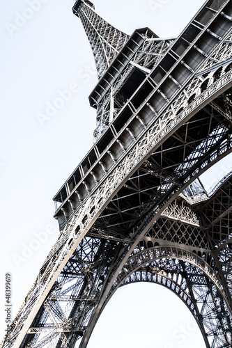 The Eiffel tower,most recognizable landmarks in the world