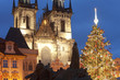 prague christmas tree