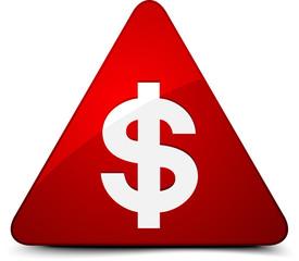 Dollar Hazard sign