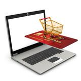 Laptop Mobile Shopping