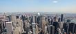 Skyline of Manhattan - panorama