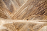 Walk in Zabriskie Point, Death Valley