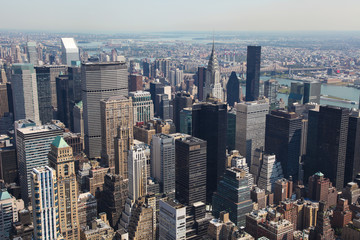 Skyline of Manhattan, New York City