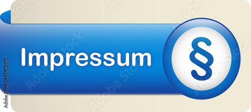 IMPRESSUM button (contact publishing blue web internet)