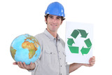 Recycle building materials to protect the planet