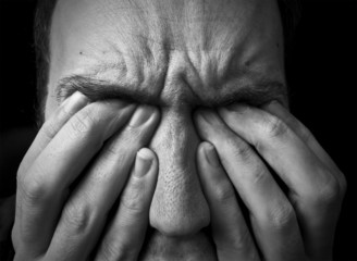 feeling upset / in pain