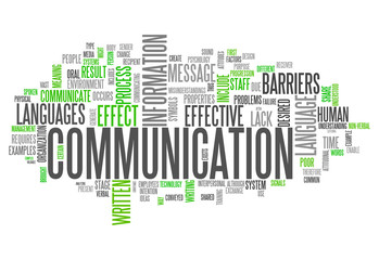 "Word Cloud ""Communication"""