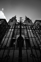 catholic church in Rezekne, Latvia