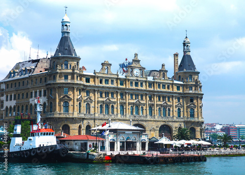 Haydarpasa train station building Istanbul (Also Harbour)