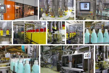 Production of Liquid Detergent, Split Screen