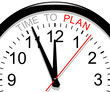 Clock. Time to plan