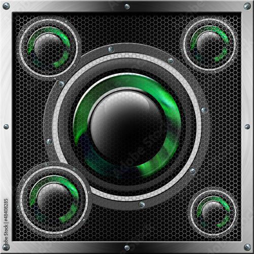 Sound System Background