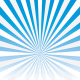 Vector abstract background of blue star burst .