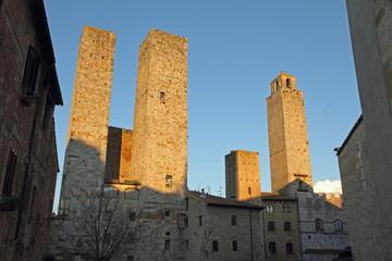 San Gimignano, UNESCO World Heritage Site, Tuscany, Italy