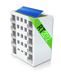Immeuble RT 2012 (reflet)