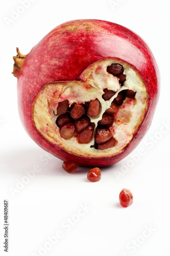 Cuore su melograno - Heart of pomegranate