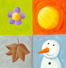 Four seasons elements