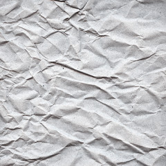 Recycled crumpled paper texture