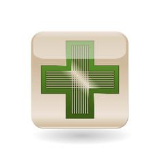 Icon chemist's cross