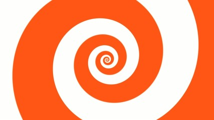 Сolorful spiral in motion
