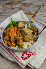 Saint Valentine's Dinner: Pork Stew With Fine Bulgur