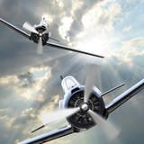 Fototapete Krief - Verkehr - Flugzeug