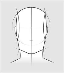Head sketch