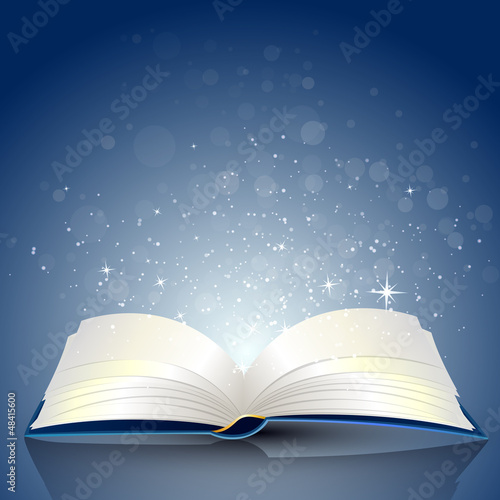 Vector Illustration of an open Book