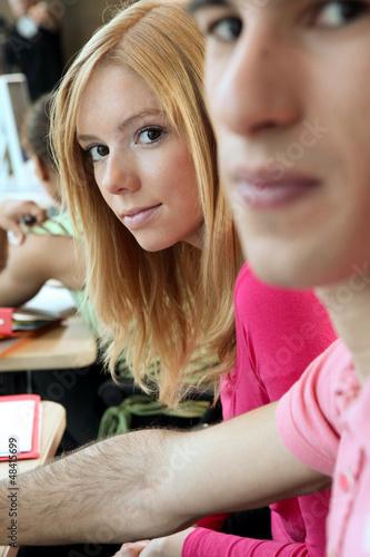 College class room