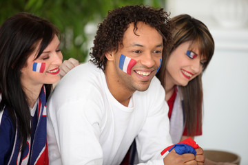 Hope French supporters