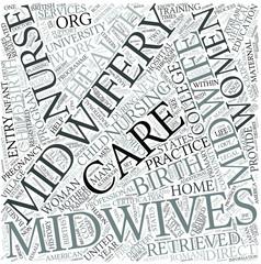 Midwifery Disciplines Concept