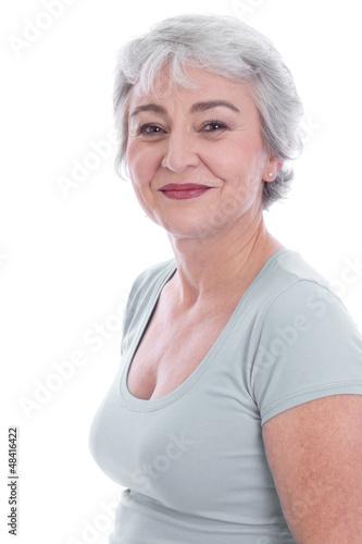 Weibliche Schönheit im Alter