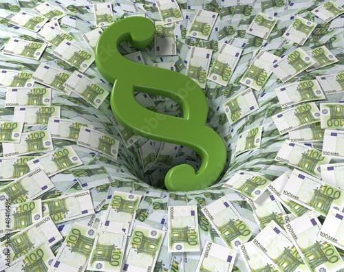 Geldscheine Steuergelder
