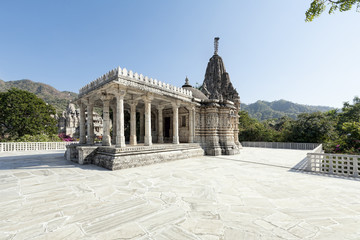 Ancient Sun Temple in Ranakpur.