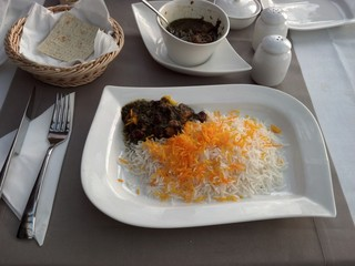 Iranian Food: Lamb Meat and Lime