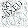 Mixed Media Disciplines Concept