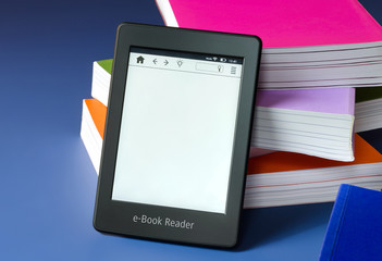 Touchscreen e-Book Reader Konzept + Copy Space