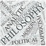 Modern philosophy Disciplines Concept poster