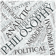 Modern philosophy Disciplines Concept